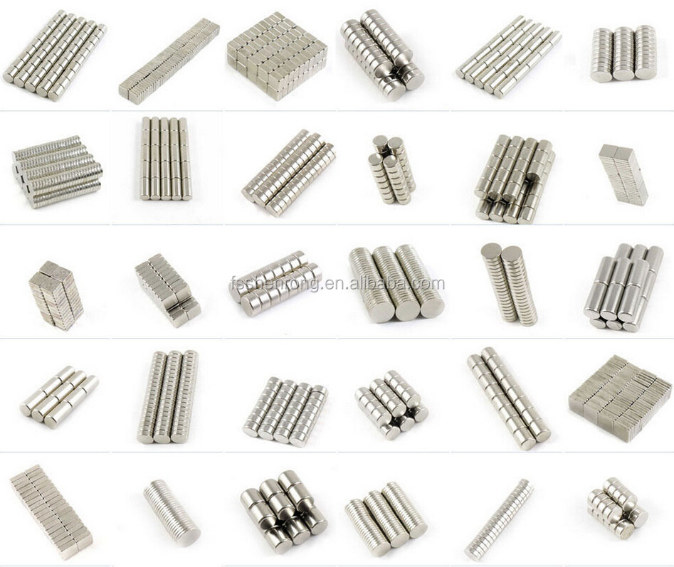 Nickel permanent strong block / cube neodymium magnet for industry or package