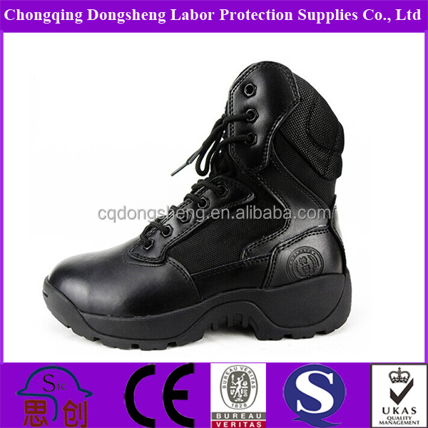 high cut anti-cold combat boots for army