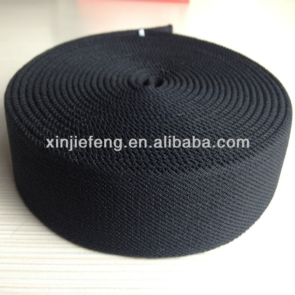 thick cotton elastic webbing military