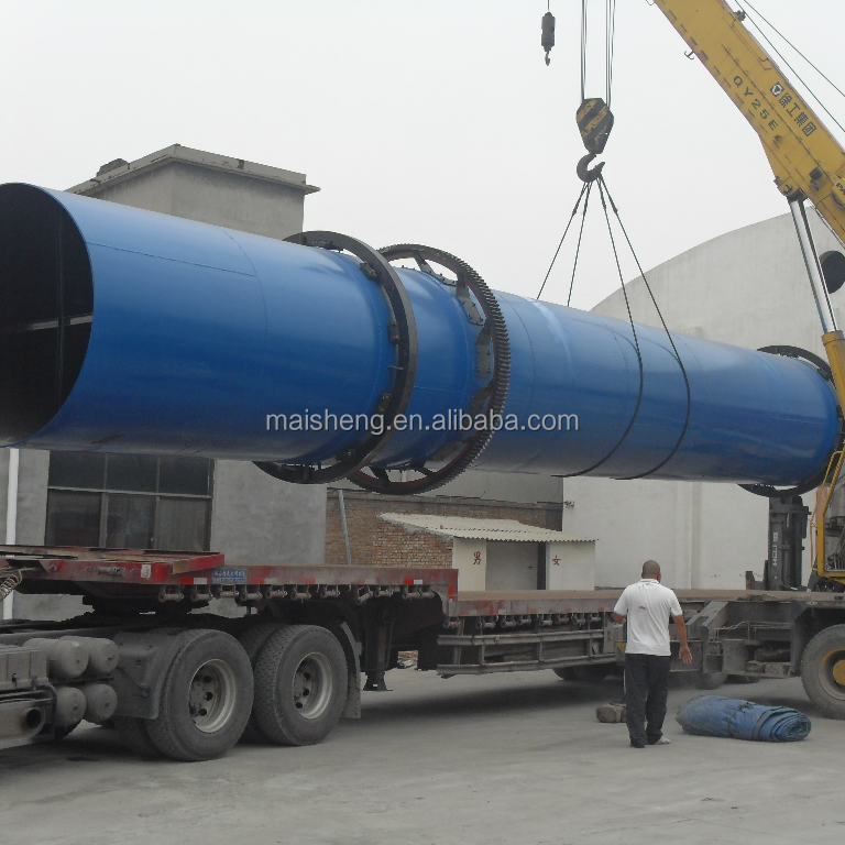 Standard quality single drum rotary dryers, monocular Rotary Dryers, Tradition Rotary Drying cylinders