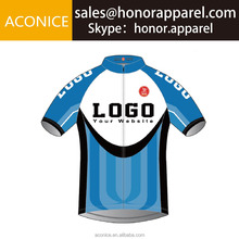 Comfortable Breathable Quick Dry Custom Made Custom Design Shirts Cycling Jersey