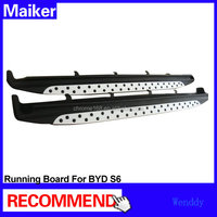 Aluminium alloy Running board from Maiker For BYD S6 b--m--w type side step bars nerf step bar 4x4 accessories