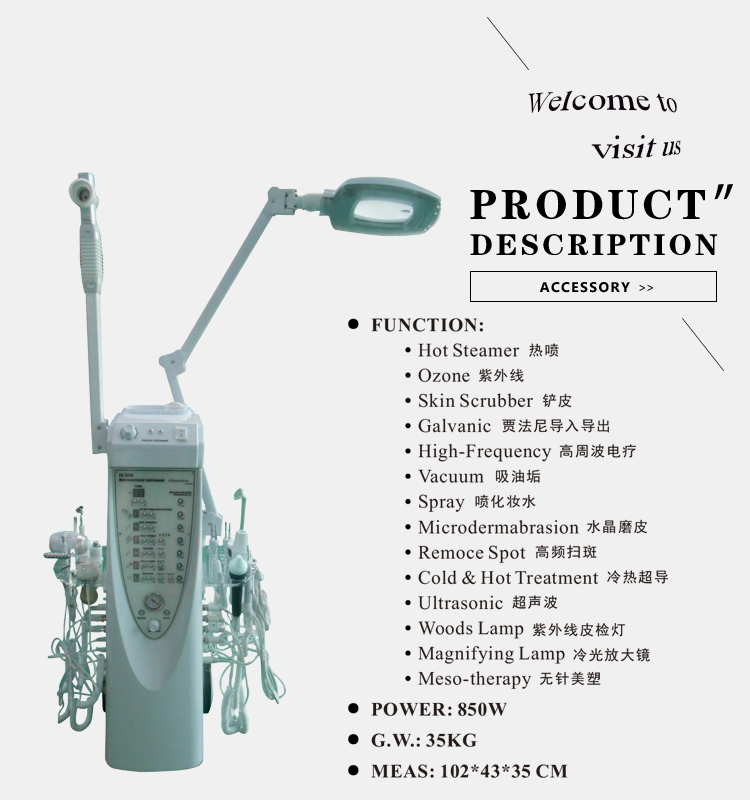 Factory outlet skin bella microdermabrasion machine M51 beauty salon use