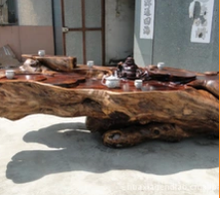 King natural whole wings wood carving Buddha carving wood coffee table wholesale Gendiaochazhuo