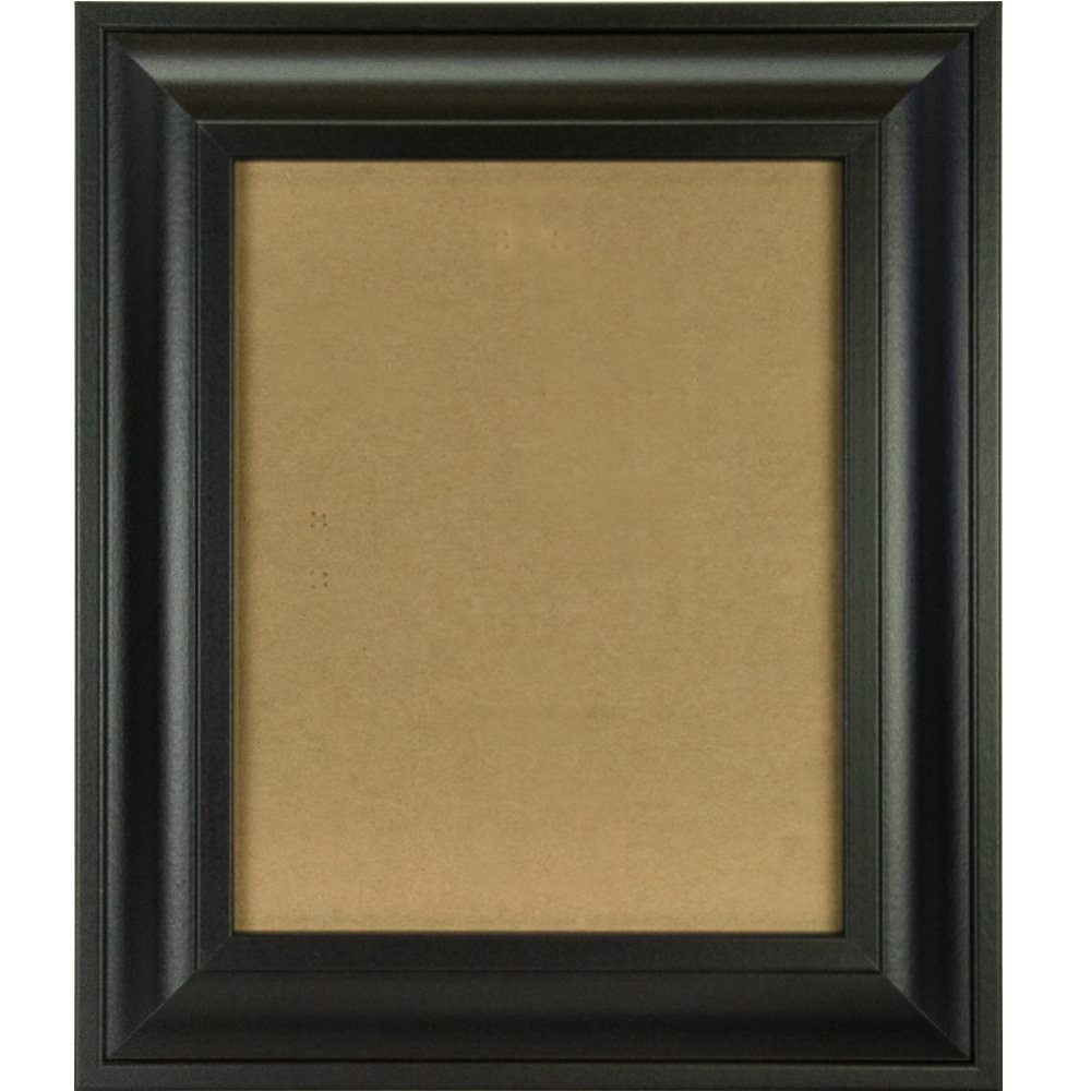 10x13 Picture/Poster Frame, Smooth Finish, 2-Inch Wide, Black