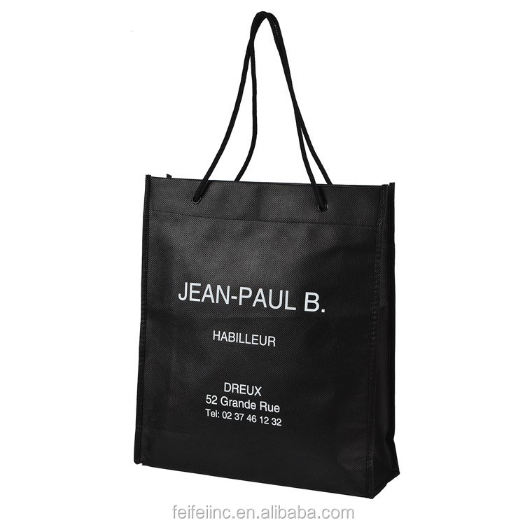 foldable pp non woven shopping bag for supermarket