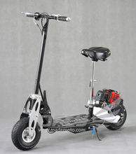 china CE Foldable 2 stroke 49cc gasoline moped scooter
