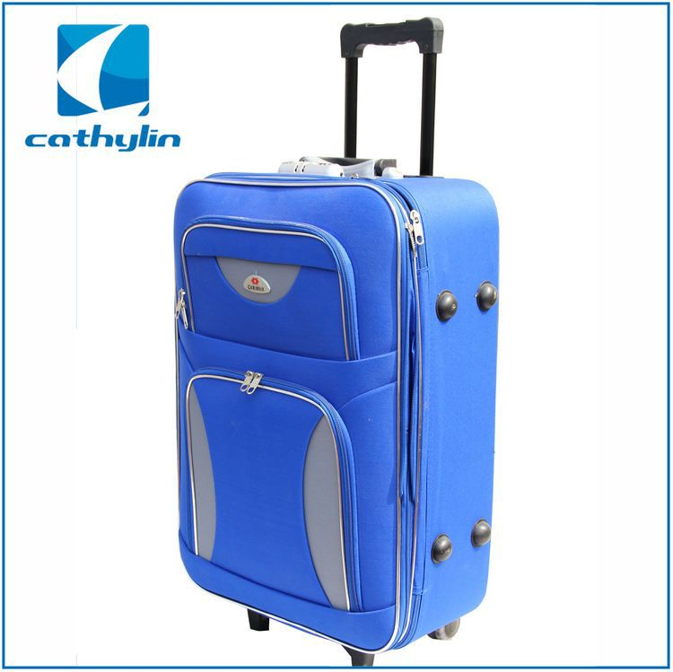 Hot-selling wholesale soft light weight durable eva travel suitcase