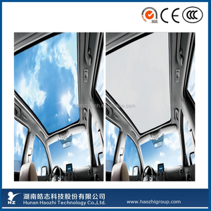 privacy protective smart glass for car window