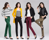 2015 autumn ladies Pants wholesale OEM&ODM women office pants trousers
