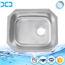 Single bowl square kitchen sinks / Simple stainless steel sinks