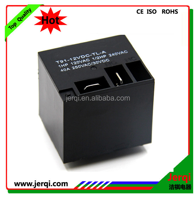 30A 40A 12V large power relay T91 pcb magnetic relay
