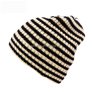 Women hot sale winter knitted toque female beanie hat