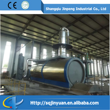 JINPENG distillation machinery pyrolysis oil refinery machine with overseas service