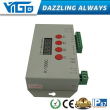 New product DC5-24v rgb led controller programmable K-1000C led pixel controller