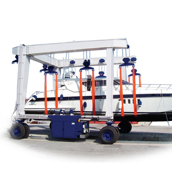 New design 110t boat lifting gantry crane for sale