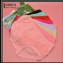 Young Girl Sexy Colourful Cotton Ladies Lace Ladies Pink Panties Mature Women Sexy Brief