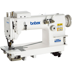 BR-3800-2PL Double needle chain stitch industrial sewing machine with puller