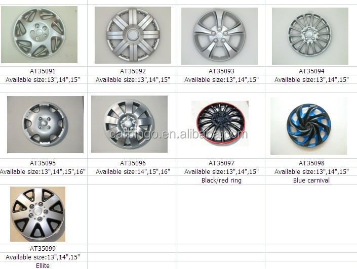 16 Inch Plastic Car Wheel Cover