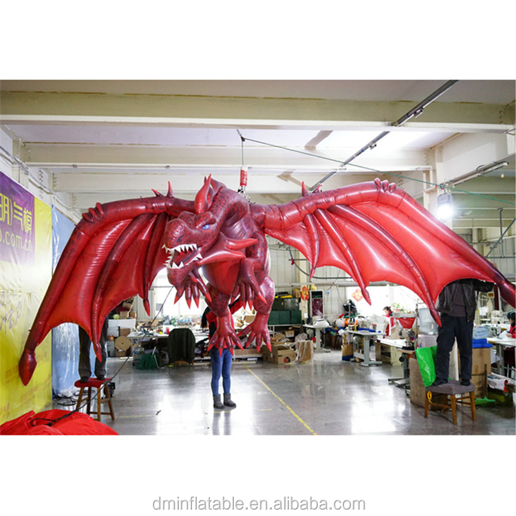 Hanging decoration giant inflatable flying Dragon