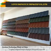 color roofing sheet artificial straw stone granule coated steel roof tile