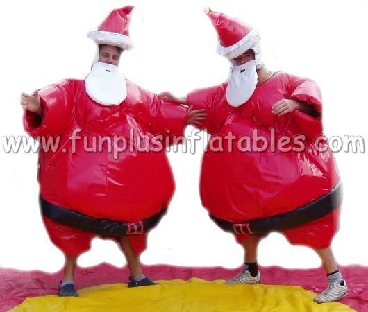 New design Santa Claus sumo suits for Christmas festival F6024