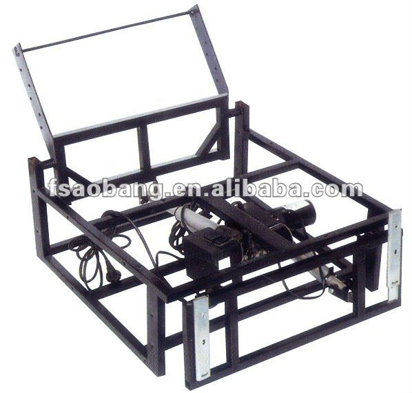 double electrical machine sofa bed mechanism sofa frame D205B