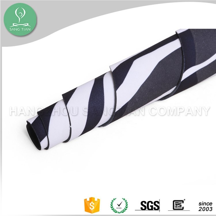 Pop selling fitness mat eco-friendly outside yoga mat carry strap with logo