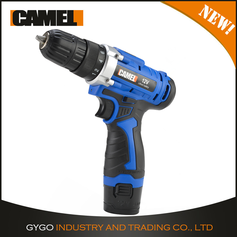 12v Li-Ion Battery Electric Power Tools 18+1 Torque Powerful Cordless Drills with lower price