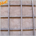 High tensile steel Ribbed Square Mesh fabric for reinforcement