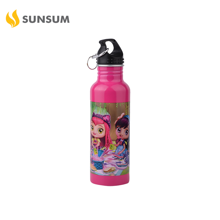 LFGB Customized Reusable Outdoor Travel Aluminum Sports Drinking Water Bottle