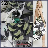digital printing wholesale different types of chiffon fabric prints