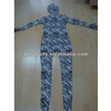 camouflage blue party costume lycra zentai suit