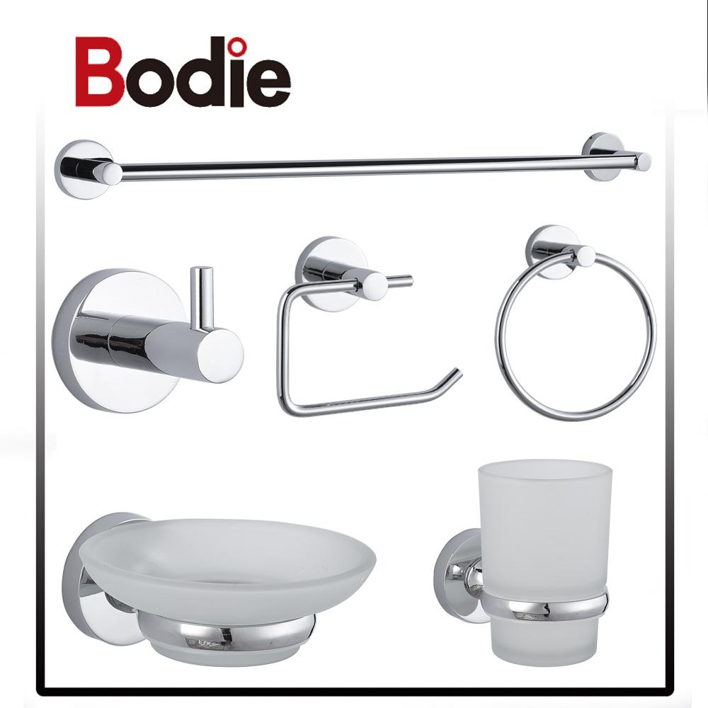 #Bodie 6 Piece Accessories For Bathroom Set Fittings Unique Chrome Bathroom  Accessories 2300A
