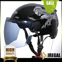New Motorcycle Scooter Leather Vintage Open Helmet