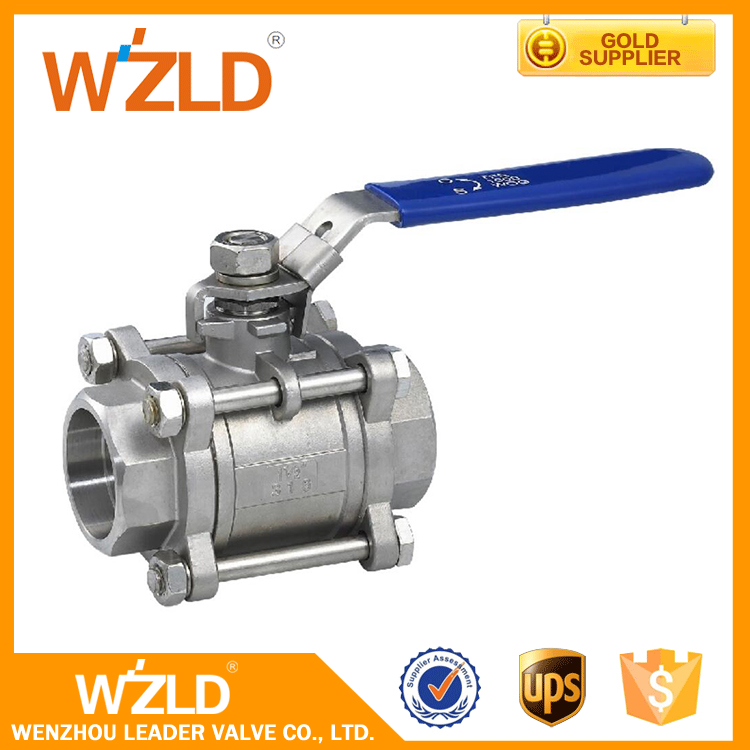 WZLD International Standard BSP Thread & Flanged End Stainless Steel Special Ball Valve