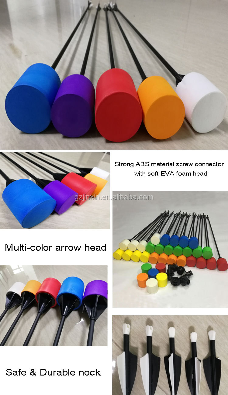 Wholesale custom foam tip head arrow Toughness and durable foam tip arrows for shooting
