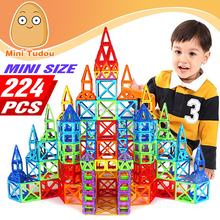 2017 New product 3D plastic building blocks toys DIY magnetic building blocks for kids magnetic bricks blocks toys