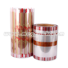 plastic rollstock twist film for chocolate and candy packaging pvc twist film