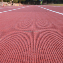 school synthetic athletic track material, sports track surface