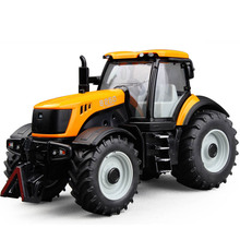 Customized 1/32 die cast farming tractor toy plastic mini tractor 3D printing