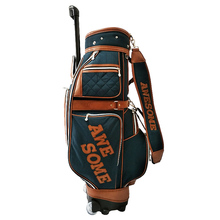 OEM Manufacture Nylon Stand Bags Wheels Golf Bag
