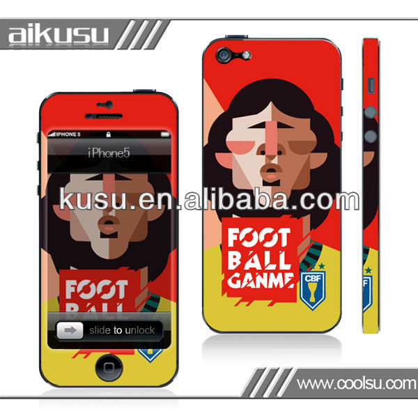 For iphone5 body skin sticker wholesale price