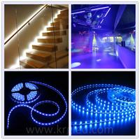 Colorful remote controlled battery operated led strip light rechargeable led strip light