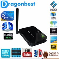 Z4 Rk3368 Android 5.1 Tv Box Octa Core Wifi Smart Android Tvbox, 2Gb16Gb Kodi 4.2 1080P Z4 Android Tv Box