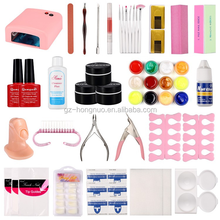 Hot Sale Perfect Nail Art Full Manicure and Pedicure kit HN2031