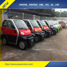 2 seats ABS electric car 60V 100ah lead-acid battery 2800W disabled people cabin mobility scooter for older people