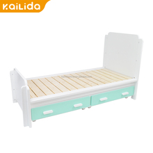 2017 hot new products powder coated good quality bedroom furniture modern design wooden kids bunk beds for xg spare parts