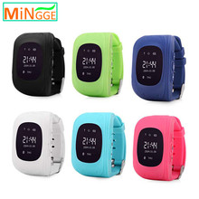 children kids cell phone position anti-kidnapping gps watch with voice recorder