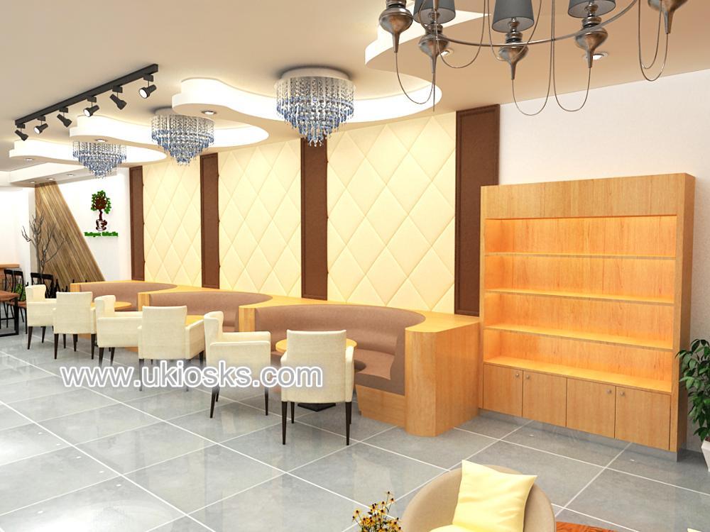 2017 newest design retail cafe decoration , coffee shop interior ...